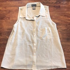 Adorable sleeveless blouse from Wet Seal